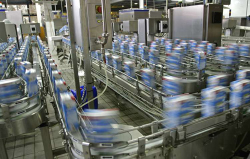 Food & Beverage - Bottling Plant - Live Automation